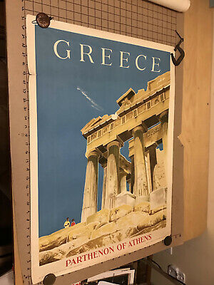 TX256 Vintage 1950/'s Greece Mineral Springs Greek Travel Poster A1//A2//A3//A4