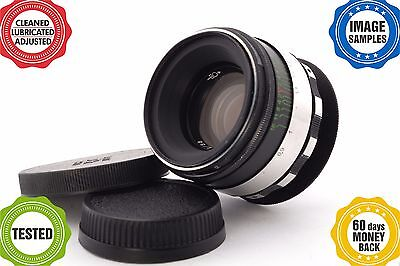 HELIOS 44-2 2/58 ZEBRA lens *your camera adapted**full range focusing* Grade A-