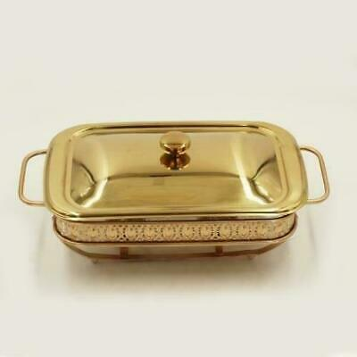 Golden Chafing Dish 2L