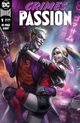 🔥🔥 Crimes Of Passion #1 Variant Mcdonald Harley & Joker Cover 03/20 Dc 🔥