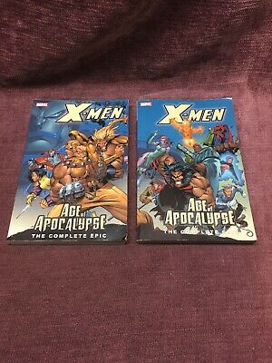 X-Men: The Complete Age of Apocalypse Volumes 1 & 2 (of 4) Paperback Lot