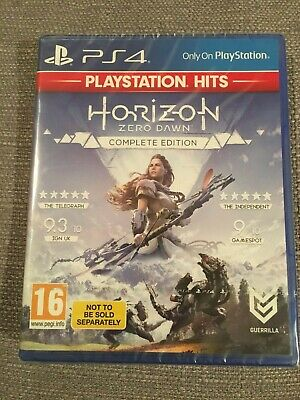 Horizon Zero Dawn Complete Edition PlayStation 4 PS4 Brand New Sealed FREE POST