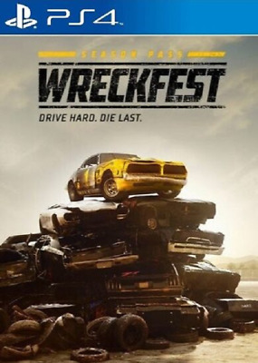 Wreckfest - Season Pass DLC *PS4 Playstation 4 CD-KEY* 🔑🕹🎮