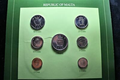 Coin Sets Of All Nations: Republic Of Malta