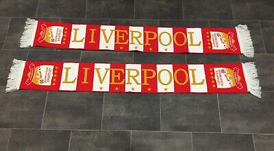 2 New Liverpool Football Scarves
