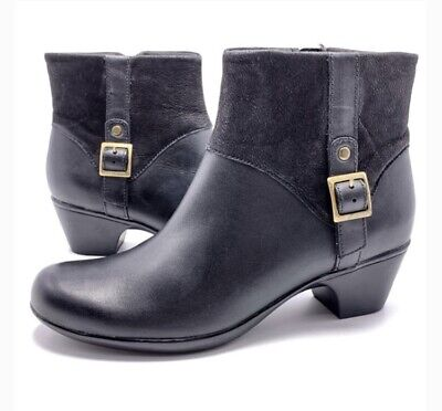 Clarks Bendables Ingalls Dover Leather Ankle Boots | Boots