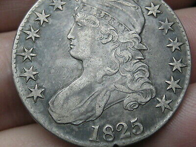 1825 Capped Bust Half Dollar- XF Details