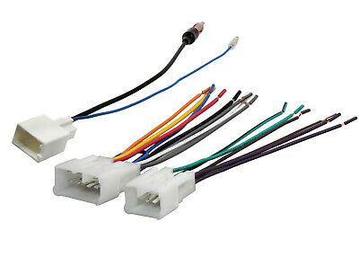 Aftermarket Radio Stereo Install Power Speaker Wire Antenna Harness for Toyota