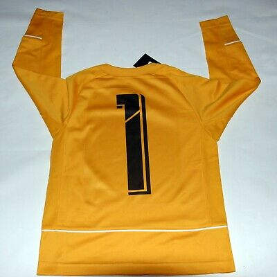 Goalkeeper Nike, soccer jersey, size YOUTH small, new/tag, yellow, great