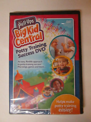 Huggies Pull Ups Potty Training Success DVD 2008 Toddler English Spanish SEALED