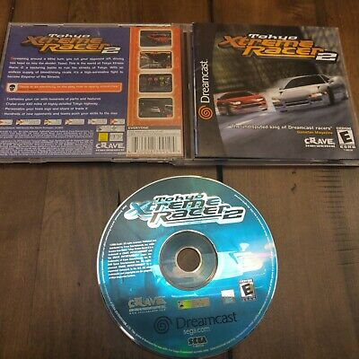 Tokyo Xtreme Racer 2 (Sega Dreamcast, 2000) Complete game in Very Good Condition