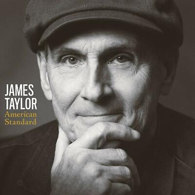 James Taylor, American Standard [New CD, 2020]  Free Shipping (RELEASED 2/28/20)