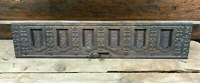 Antique Cast Iron Floor Grate Wall Grate Sliding Vent
