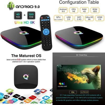 Q Plus Android Tv Box, Turewell Android 9.0 Tv Box Chip H6 Quad-Core Cortex-A53