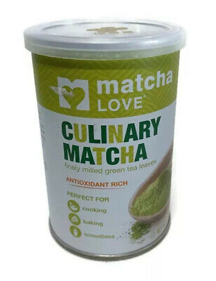 Matcha Love Culinary Matcha 3.5 Oz Finely Milled Green Tea Leaves Best By 4/20