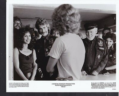 Eric Stoltz Sam Elliott and Cher in Mask 1985 vintage movie photo 35818
