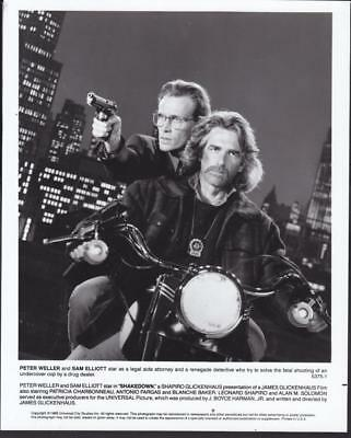 Peter Weller Sam Elliott Shakedown 1988 vintage movie photo 35951
