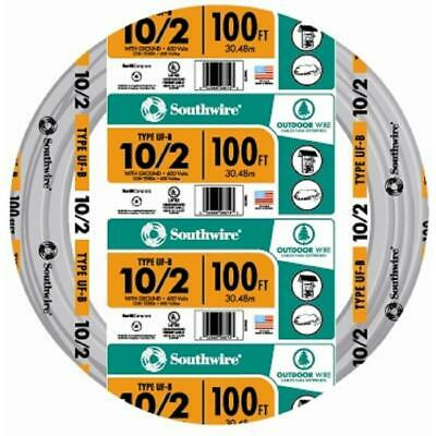 Southwire Service Entry Electrical Cable 100 ft. Solid Pre-Cut Length Gray