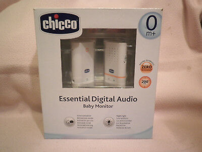 Baby Monitor Chicco Essential Digital Audio 06607 Nuove Mai Usate