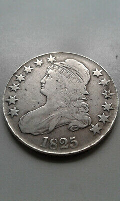 1825 Capped Bust Silver Half Dollar