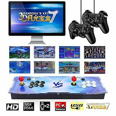 TAPDRA 2413 Classic Arcade Game Console Machine, 4 Players (Pandora 7|Color 2)