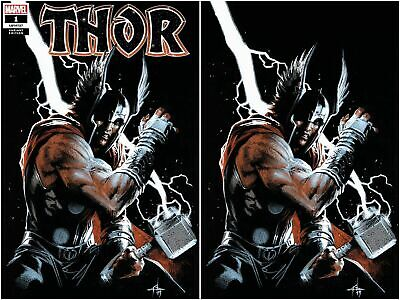 Marvel Comics THOR #1 DELL'OTTO VARIANT COVER SET /2000 /600 WITH COA SCORPION