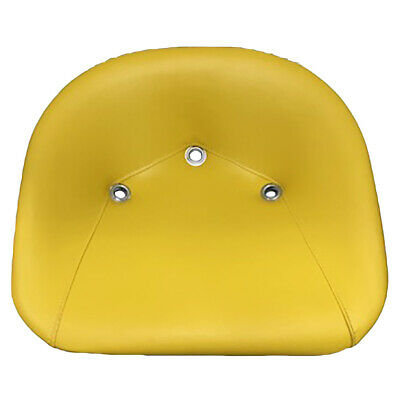 Yellow Padded Pan Seat fits John Deere Lawn and Garden Tractors TS1200