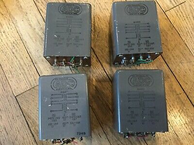Vintage Adc- Audio Transformers - Two Pair - A14420 - 600/150 Ohm