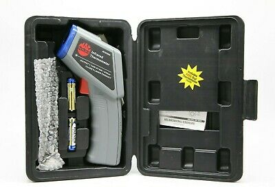 MAC TOOLS Infared Thermometer Model AC252224 With Original Case & Manual. Nice!