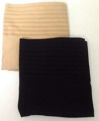 Cacique Level 1 Smooth Ultra High Waist Brief Panty Shaper Nwot Black Beige