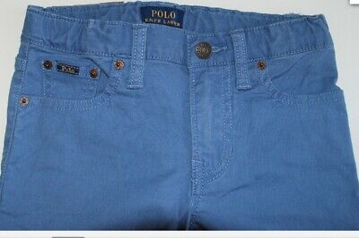 Boys Stretch Jeans Ralph Lauren  Size 10 Yrs Blue  Slim Fit BNWT