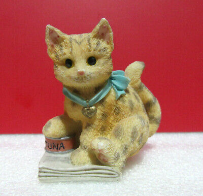 Enesco Calico Kittens Mouse Chasers Display Cat MINT NEW in BOX #930628