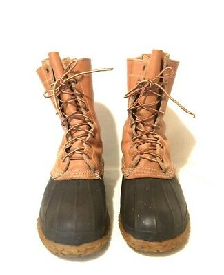 VINTAGE CONVERSE INSULATED Rubber Lace up Boots Size 7 Army
