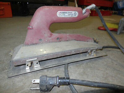 Roberts 10-282G Deluxe Heat Bond Carpet Seaming Iron USED TESTED GOOD
