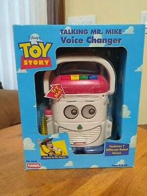 VTG 1996 Toy Story Talking Mr Mike Voice Changer Playskool NEW NOS *RARE*
