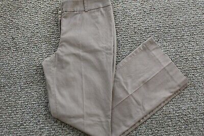 ANN TAYLOR LOFT Women's Julie Wool Blend Dress Pants SIZE 8P  Beige