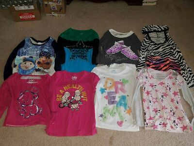 girl's justice lot of shirts size 8