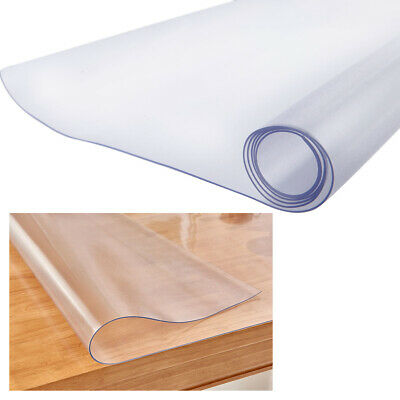 Frosted PVC Chair Mat Tablecloth Floor Protector Office Home Anti-Slip Carpet