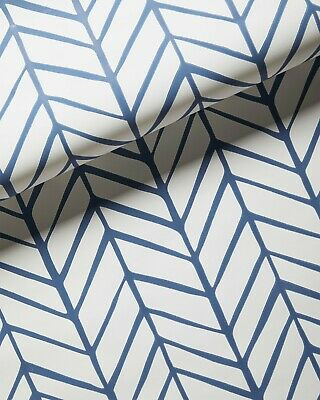 3 available 33/% off! New Serena /& Lily Fallbrook//Cut Leaf Blue Wallpaper