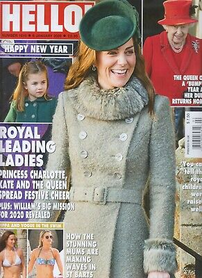 Kate Queen Charlotte Royal Leading Ladies Hello! Magazine January 6 2020
