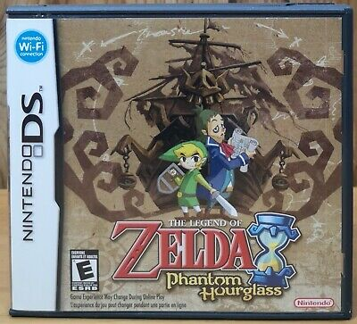 The Legend of Zelda Phantom Hourglass (Nintendo DS, 2007, Nintendo) *Complete E