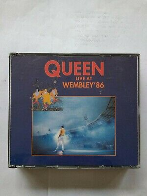 Doble Cd Queen Live At Wembley 86