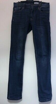 Polarn O. Pyret Blue Denim Jeans Boys 10-11 years 146cm Slim Trousers Robin