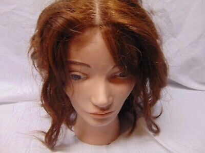 1989 Pivot Point Cosmetology Mannequin head for practice with hair