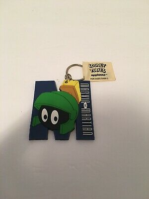 Looney Tunes; Applause NEW SEALED Treasure Keeper keychain Marvin Martian
