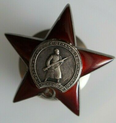 Medal  Order of the Red Star-SILVER - 100% Authentic