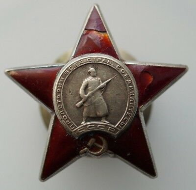 -   Medal  Order of the Red Star-SILVER - 100% Authentic