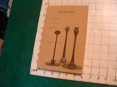 vintage book: THE JARVIE SHOP candlesticks & metalwork, by Thomas Maher, 1997