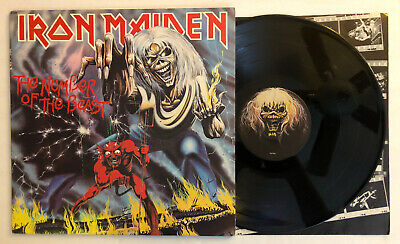 Iron Maiden - The Number Of The Beast - 1982 US 1st Press (EX) Ultrasonic Clean