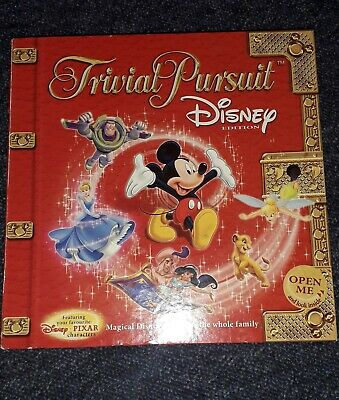 Trivial Pursuit Disney Edition Board Game 2005 Hasbro Red Box 100% Complete VGC